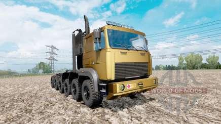 MAZ prototipo de 12x12 para Euro Truck Simulator 2