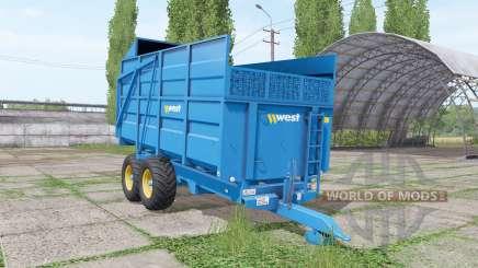 West 10t para Farming Simulator 2017