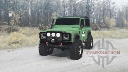 Land Rover Defender 90 para MudRunner