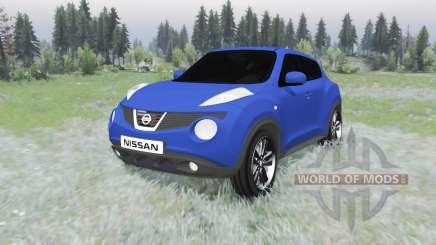 Nissan Juke (YF15) 2011 para Spin Tires