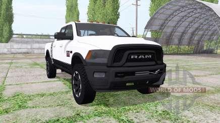 Dodge Ram 2500 Power Wagon Crew Cab para Farming Simulator 2017