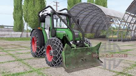 Fendt 209 S forest edition para Farming Simulator 2017