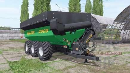 Balzer 2000 Tridem para Farming Simulator 2017