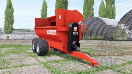 Abbey 2550 para Farming Simulator 2017