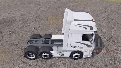 DAF XF105 FTG Super Space Cab para Farming Simulator 2013