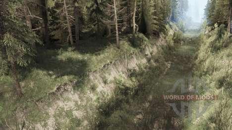 El Pueblo De Lago para Spintires MudRunner