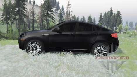 BMW X6 M (E71) para Spin Tires