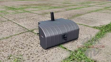 Saphir front weight v1.1 para Farming Simulator 2017