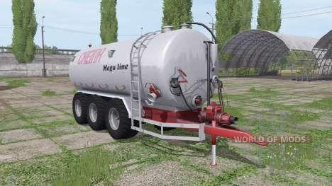 Creina CVC 25000 TRI para Farming Simulator 2017