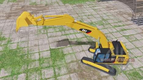 Caterpillar 329E para Farming Simulator 2017