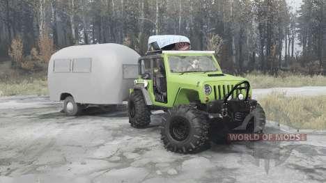 Jeep Wrangler Rubicon (JK) para Spintires MudRunner
