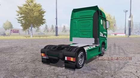 Mercedes-Benz Actros (MP4) para Farming Simulator 2013