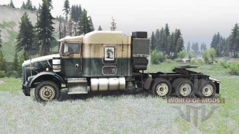 Kenworth T800 para Spin Tires