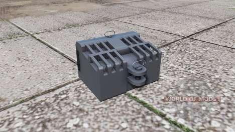 Steyr front weight para Farming Simulator 2017