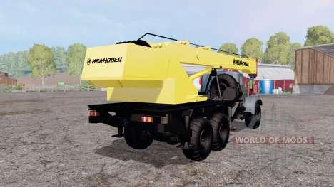 KrAZ 257 Ivanovets para Farming Simulator 2015