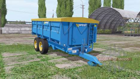 Harry West 10t para Farming Simulator 2017
