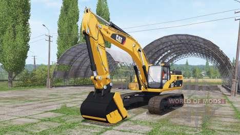 Caterpillar 345D L para Farming Simulator 2017