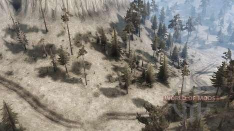 Pogue Creek Canyon para Spintires MudRunner