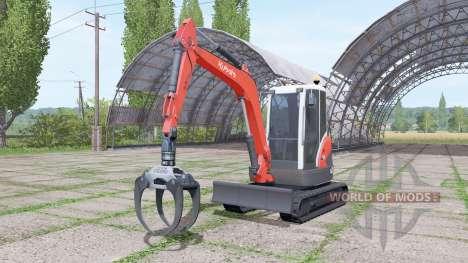 Kubota KX71-3 para Farming Simulator 2017