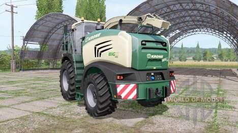Krone BiG X 600 para Farming Simulator 2017