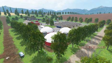 New Westbridge Hills para Farming Simulator 2015