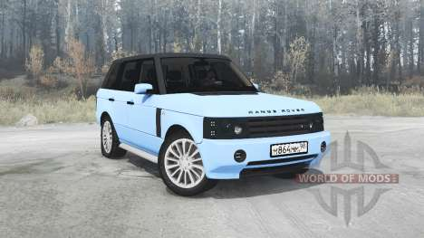 Land Rover Range Rover Sport (L320) Pontorezka para Spintires MudRunner