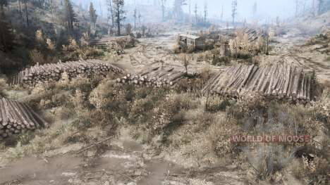 Parcela en un valle para Spintires MudRunner