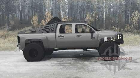 Chevrolet Silverado 2500 HD Crew Cab (GMT911) para Spintires MudRunner