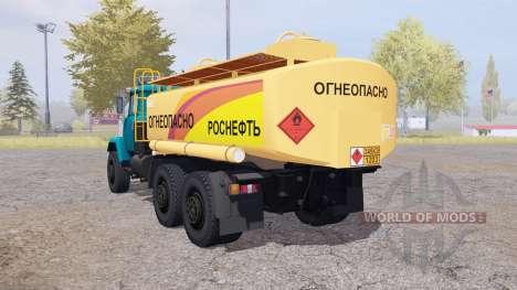 KrAZ 6322 Inflamables para Farming Simulator 2013