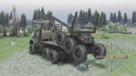 Урал Siguiente (4320-6951-74) editar Armata v1.1 para Spin Tires