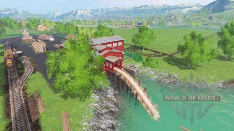 En las orillas del río para Farming Simulator 2015