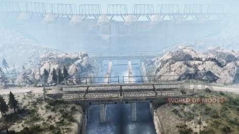 Lancang Dam para Spintires MudRunner