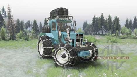 MTZ-82 Bielorrusia para Spin Tires