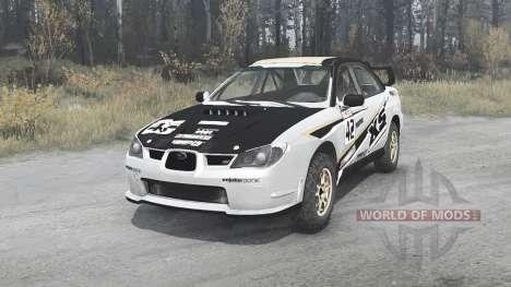 Subaru Impreza WRX STi (GDB) 2007 Rally para Spintires MudRunner