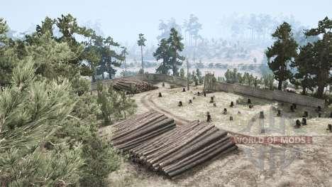 Brook Landscape para Spintires MudRunner