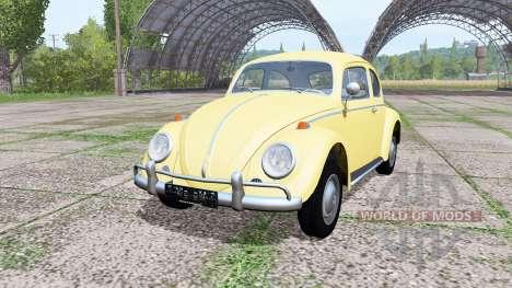 Volkswagen Beetle 1963 para Farming Simulator 2017