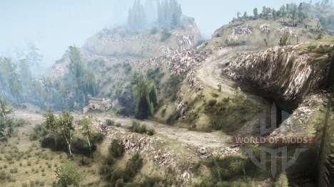 La Luna 5 - The valley para Spintires MudRunner