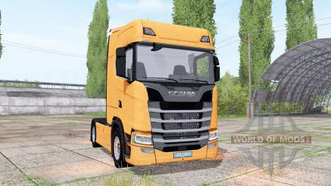 Scania S 580 Highline 2016 para Farming Simulator 2017