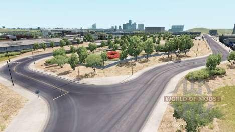 Coast to Coast v2.5 para American Truck Simulator