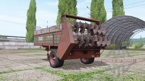 Krone Optimat para Farming Simulator 2017