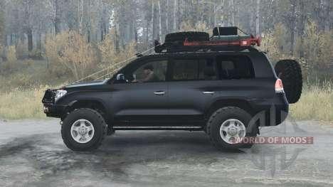 Toyota Land Cruiser 200 (UZJ200) 2008 para Spintires MudRunner