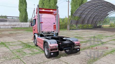 Scania R580 Highline Cab 2013 para Farming Simulator 2017