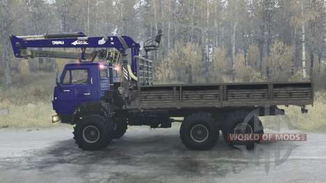 KamAZ 53212 para Spintires MudRunner