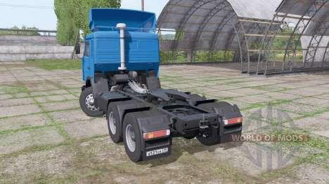 KAMAZ 54115 Gazprom Neft v1.3 para Farming Simulator 2017