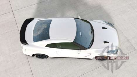 Nissan GT-R Egoist (R35) 2011 para BeamNG Drive