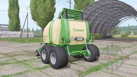 Krone Comprima F155 XC v1.1 para Farming Simulator 2017