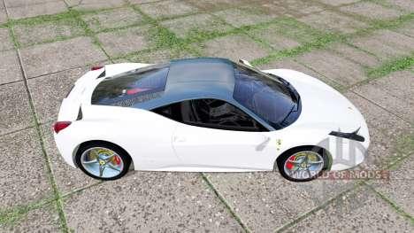 Ferrari 458 Italia para Farming Simulator 2017