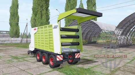 CLAAS Cargos 9500 para Farming Simulator 2017