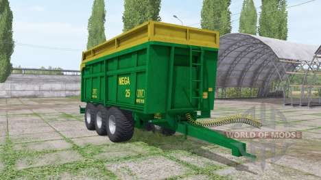 ZDT Mega 25 para Farming Simulator 2017