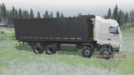CNHTC Howo A7 2008 para Spin Tires
